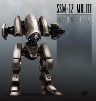Squad Support Mech-12 Mark III by Hazzard65