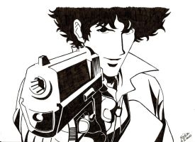 Spike Spiegel by BillieBlack