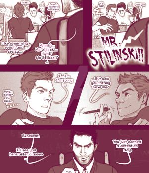 STEREK TEACHER comic commission by Romax pg02 by Slashpalooza