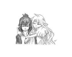 Zeref And Mavis by goldvicblest