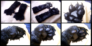 Shadow Handpaws by CuriousCreatures