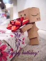 Happy Birthday from Danbo by Tigzzz