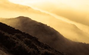 Mist over Lindale Hill - 2 by noelholland