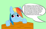 Rainbow Dash is an Experiential Learner by JapaneseTeeth