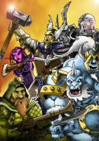 Warcraft by KingDinko