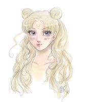 Usagi - Colored Version by conniebees