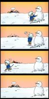 The story of snowman by Kido-taufan