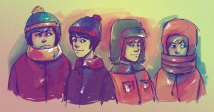 South Park by andrahilde