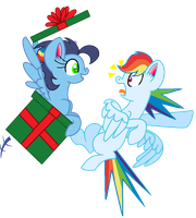 MLP:Happy Hearth Warming Bro! by kiananuva12