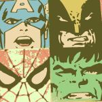 Marvel Comic's pop art 2 by DevintheCool