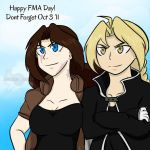Happy FMA Day from Ed and Em: Dont Forget Oct 3 11 by AnimeEmm