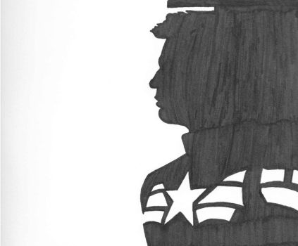 Captain America Shadow by VulcanTrekkie