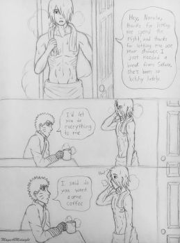 SasuNaru Comic by MayaAtMidnight