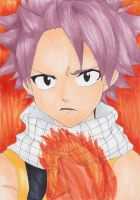 Natsu Dragneel from Fairy Tail by Hinamai-chan