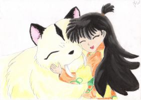 Rin and Kirara by JamieWardley