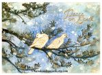 Peace on Earth Card by Qiu-Ling