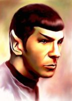 Spock Green by karracaz
