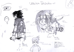 Sasuke Sketches1 by TorchwoodWerewolf