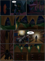 Hunters and Hunted Ch 5 Pg 5 by Saronicle