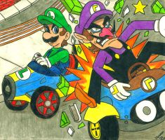 Make way for Luigi! by Villaman89