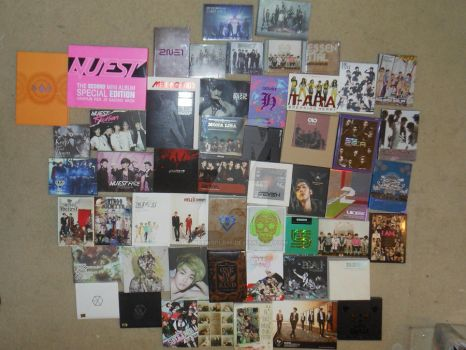 FULL Kpop Album Collection Update by ShineeWorld58
