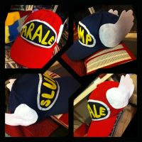 Dr Slump and Arale Hats by dwarvenbarbarianrage