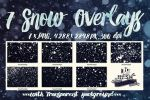 7 Snow Overlays by Diamara