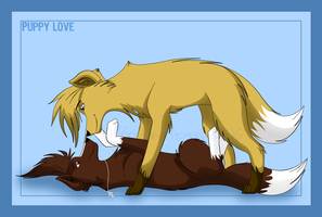 .::Puppy Love::. by seynadarkwolf