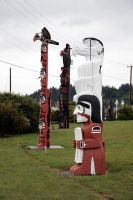 Canada - Totem Pole II by puppeteerHH
