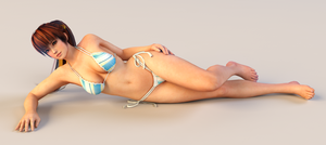 Kasumi 3DS Render 6 by x2gon