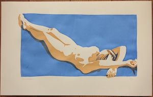 Nude Screen Print 02 by LordSnooty