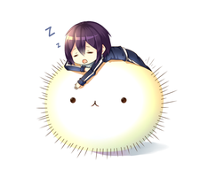 Don't sleep Yato! by Neko-Slay
