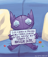 Sableye Shaming by Kirokokori