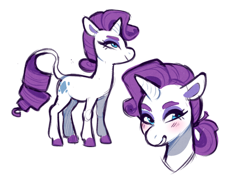Rarity by Sutexii