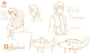 UnFaltered: The Pilot (Sketches) by Aileen-Rose