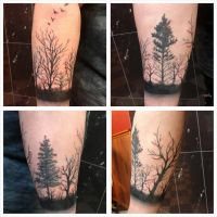 Forrest tattoo by Electronic-Sin