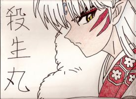 Sesshomaru by moonshadow150