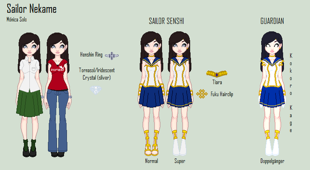 SM Sailor Nekame Ref by OrangePinkRose