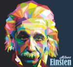 WPAP Albert Einsten by IndraRisky