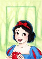 Snow White Forest-Art Card by Faerytale-Wings