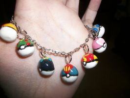 Kurts Apricorn Pokeball Charms by Unforgiven-xo