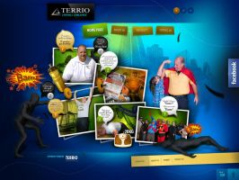 Terrio Livewell Challenge - design and development by webdesigner1921
