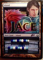 Jace and Niv Mizzet 3D Life Counter by LaineyElaina