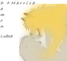Damon and Marrisa by lubca