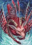 ACEO Deep Waters by Sysirauta