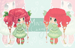 Adopt [CLOSED] | Minti Cherry Chibi by greenmaggot-designs