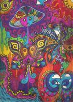 Psychedelic Nonsense 3 by Cyberdelic-Glow