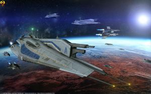 Alliance Seventh Fleet by Euderion