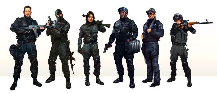 Military-characters-First-Contact by BorjaPindado