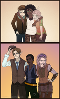 20 years of friendship by Acayth